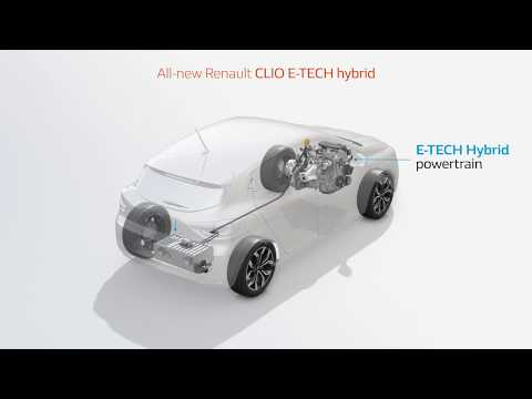 All new Renault CLIO E-TECH hybrid: multimodal intelligent gearbox