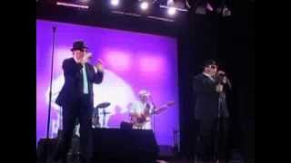The Blues Brothers Soul Band singing Rubber Biscuit