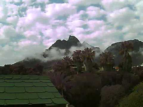Timelapse Video – Table Mountain – 30/08/2010