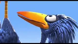 Animasi lucu burung comel.