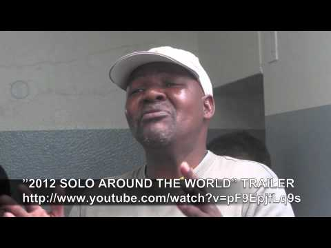 PAUL HODGE: NELSON MANDELA PRISON, SOLO AROUND WORLD IN 47 DAYS, Ch 58, Amazing World in Minutes