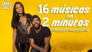 16 Músicas em 2 minutos (Sing off - Anna e Saulo)