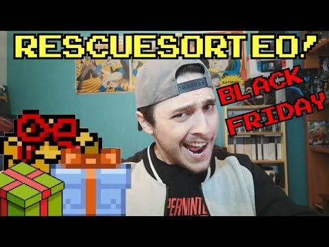 GANADORES #RESCUESORTEO Black Friday!!