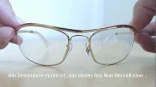 21f0688afea Ray Ban Olympian RB 3119 mit Stärken - YouTube