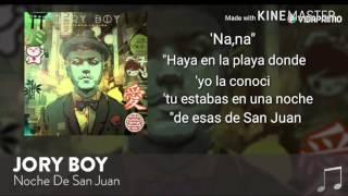 Jory boy - Noche de San Juan - letra official