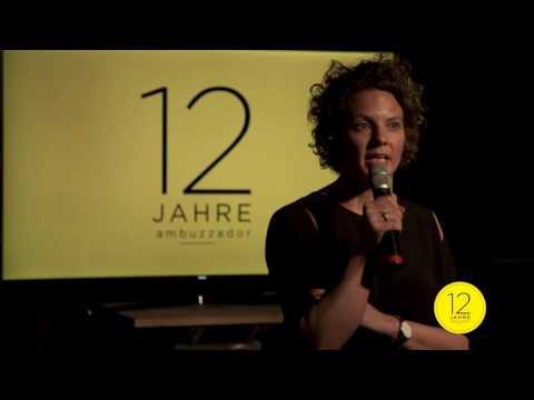 12 Jahre ambuzzador Rede von Sabine Hoffmann