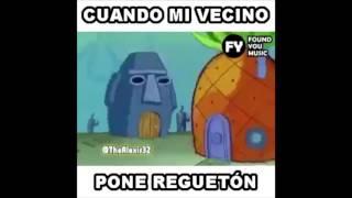 Cuando Tu Vecino Pone Reggaeton y le das competencia