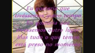 Justin Bieber - Stuck in the moment tradução