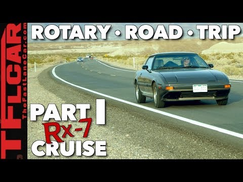Here's Why Rotary Engines Are So Cool! Tommy and Roman's Rotary Road Trip Part 1