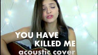 You Have Killed Me - Morrissey (Acoustic cover by Ariel Mançanares)