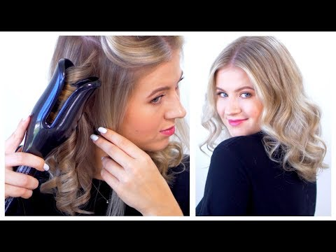 The Best Automated Hair Curling Iron?!