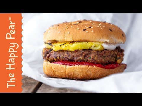 VEGAN JERK BURGER | FEBURGERARY | THE HAPPY PEAR