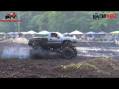 Blue Chevy Mega Truck At Perkins Spring Mud Bog