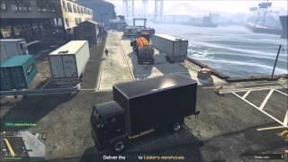 GTA V truck twerk