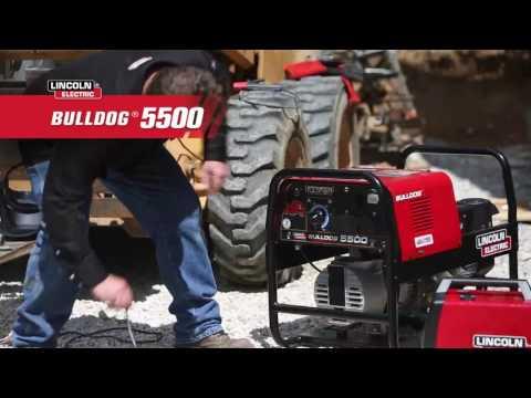 Lincoln Electric Bulldog 5500 AC Welder/AC Generator with Kohler Engine - 140 Amp DC, 5,500 Watts AC