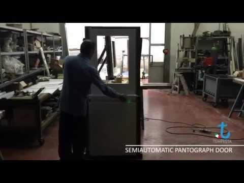 Semi-Automatic Pantograph Door