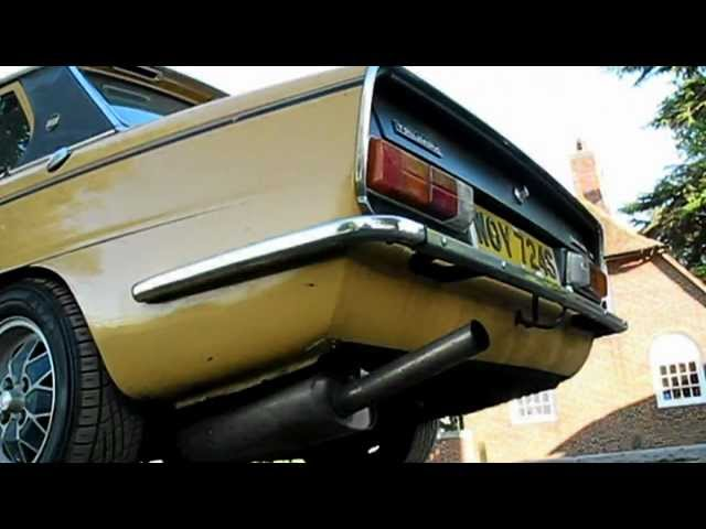 1977 Triumph Dolomite Sprint Sights & Sounds