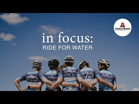 Azusa Pacific Ride for Water Trailer