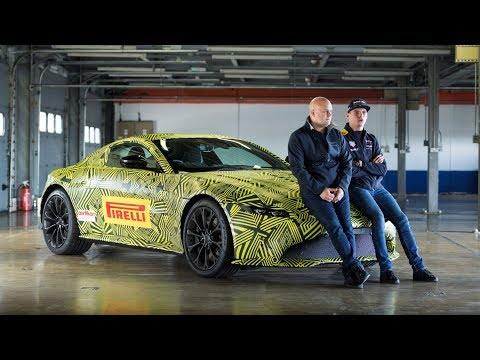 When Max Verstappen met #NewVantage | Aston Martin