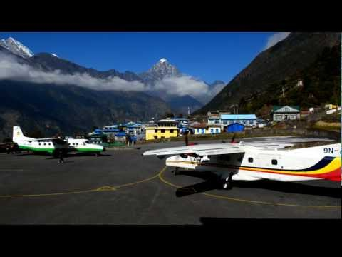 Tenzing-Hillary airport, Lukla, Nepal.