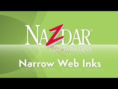 Nazdar Narrow Web Inks
