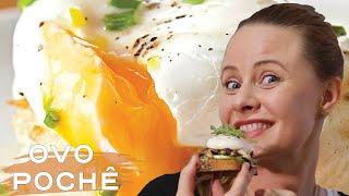 Como fazer ovo pochê perfeito| Derrete na boca e você faz em 3 minutos| Receita