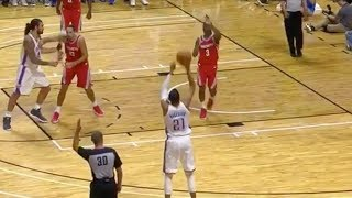 """""""Hell Naw!"""" Chris Paul Makes Fun of Andre Roberson Attempting a 3-Pointer"""