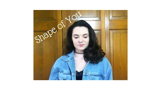 Shape of You by Ed Sheeran Cover by Rachel Dauer