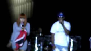 Nicki Minaj performing Hold Yuh
