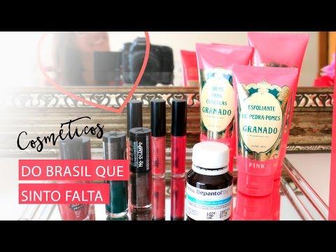 Cosméticos Vendidos no Brasil que sinto falta | Pigmento F