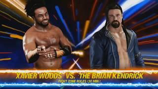 FZW Live! Xavier Woods vs Brian Kendrick FULL MATCH?