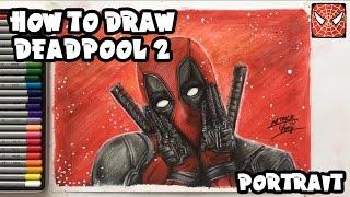 How to draw Deadpool 2 | Art Kids Superhero