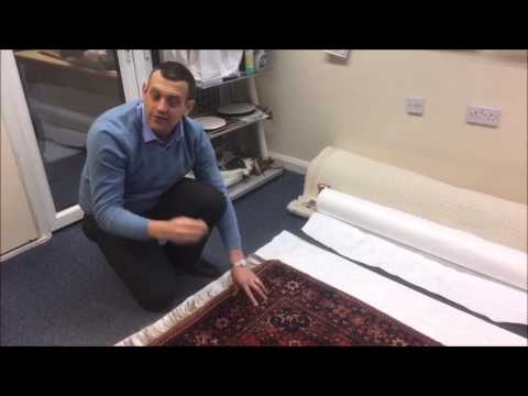 Wrapping & Storing Your Fine Rug