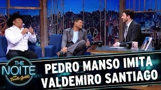 Pedro Manso imita Valdemiro Santiago | The Noite (24/05/17)