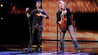 """Jeff Gutt and John Rzeznik """"Iris"""" - Live Week 8: Finals - The X Factor USA 2013"""