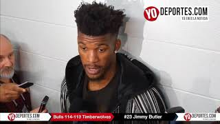 Jimmy Butler Chicago Bulls 114-113 Minnesota Timberwolves