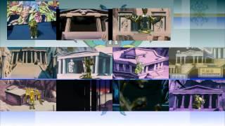 LA COLECCIÓN DE LOS CABALLEROS DEL ZODIACO( Bandai latino 1987- 88) STOP MOTION p4 PREVIEW .