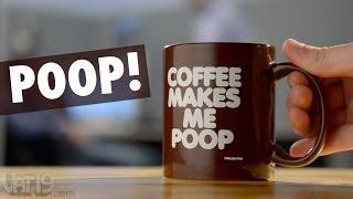"""""""Coffee Makes Me Poop"""" Mug"""
