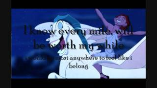 Hercules I Can Go The Distance Instrumental With Lyrics