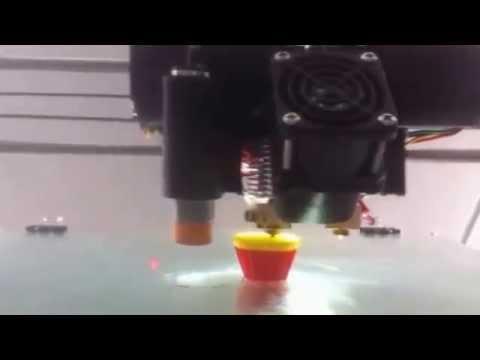 Impresión 3D en Flexible con Doble Boquilla