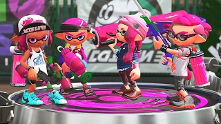 Splatoon 2 Testfire: 3 Minutes of Turf War Multiplayer (1080p 60fps)