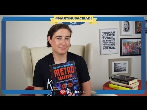 Zářijové knižní tipy: Léňa - Metro 2033 #martinusaciradi