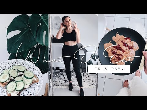 WHAT I EAT IN A DAY | VEGAN/PLANT BASED + EXERCISE ROUTINE | I Covet thee