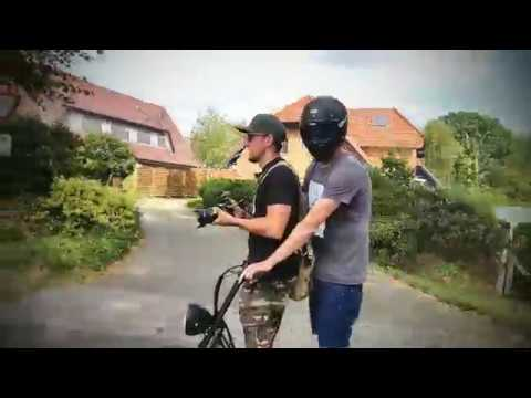 Electric Fat-Wheel Scooter as Camera Operator Vehicle