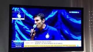 """Zanetti canta """"Più bella cosa"""" di Eros Ramazzotti"""