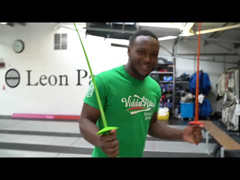 EPISODE 1: Professional boxer Viddal Riley in wheelchair fencing duel!!