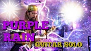Purple Rain Cover | Prince Shred Guitar Solo | Viking