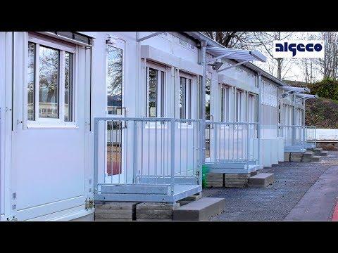 Referenzprojekt Interimsschule Goldbach | ALGECO