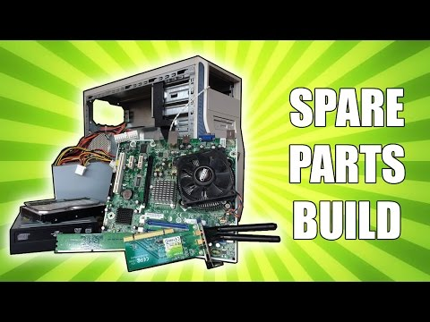 Building a Budget PC From All My Spare Parts