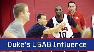 Duke's USA Basketball Influence